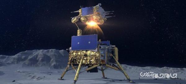سطحنشین چینی چانگ ای 5 پس از برداشت نمونه از سطح ماه برخاست