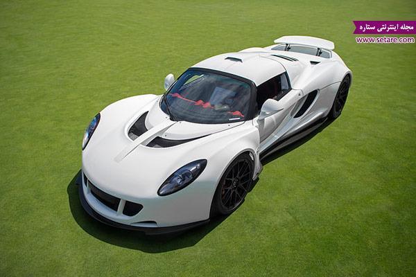 معرفی سریع ترین خودرو های دنیا