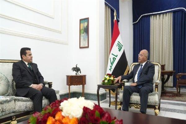 برهم صالح بر لزوم برطرف ساختن شکاف های امنیتی تأکید کرد