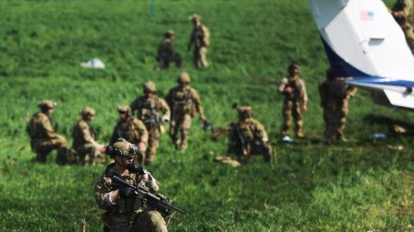 توسعه پایگاه نظامی آمریکا در اربیل عراق