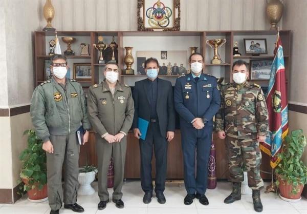 نشست رئیس فدراسیون اسکی با رئیس سازمان تربیت بدنی ارتش، آنالیز راهکارهای همکاری مشترک در حوزه های قهرمانی و همگانی
