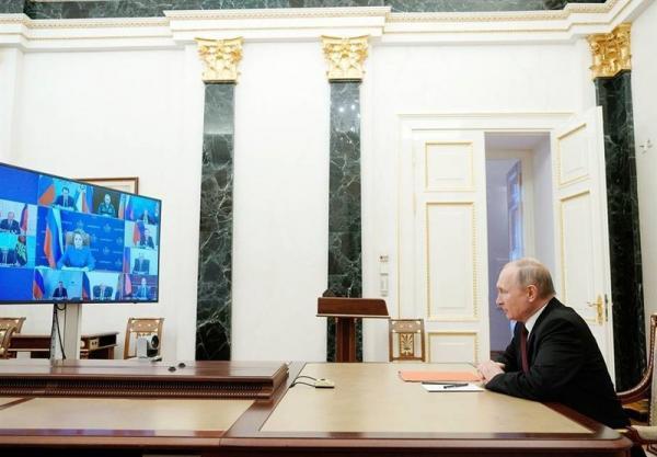 تأکید پوتین بر دفاع از منافع روسیه در عرصه بین المللی