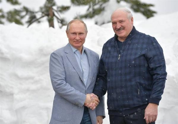 مذاکرات محبت آمیز پوتین و لوکاشنکو در سوچی