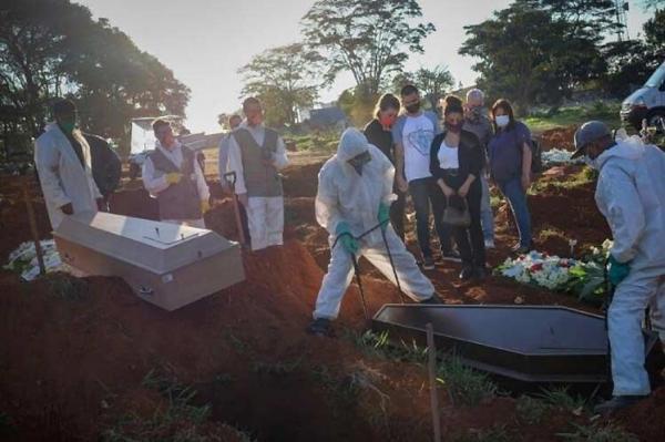 فاجعه در برزیل؛ آمار روزانه قربانیان کرونا از 4000 نفر فراتر رفت