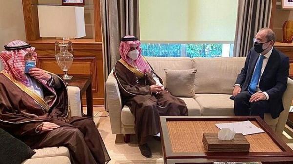 پیغام شاه عربستان به همتای اردنی