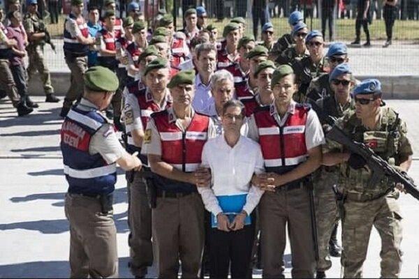 22 نظامی سابق ترکیه به حبس ابد محکوم شدند