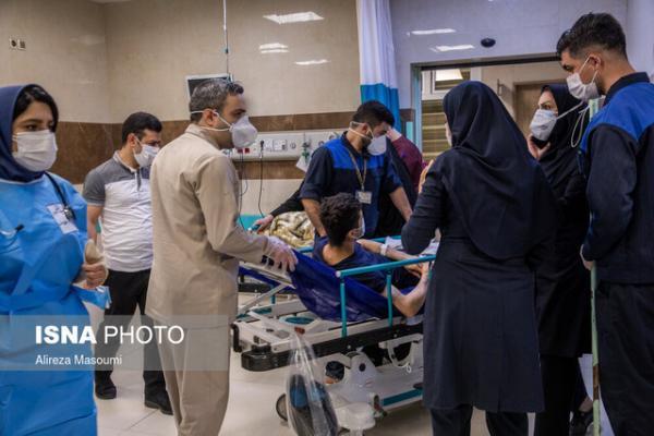شرایط بیمارستان های خوزستان همچنان قرمز است