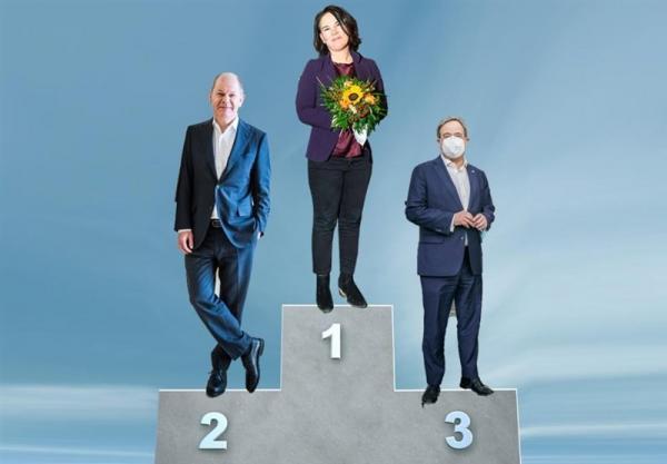 شوک عظیم دیگری برای حزب مرکل، آنالنا بائربوک همچنان محبوبترین نامزد صدر اعظمی آلمان