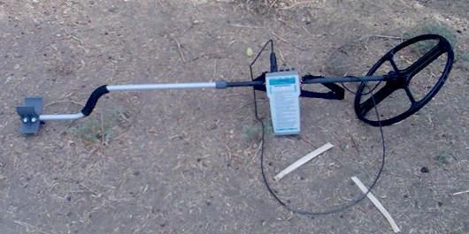 یک دستگاه فلزیاب در بردسیر کشف و ضبط شد