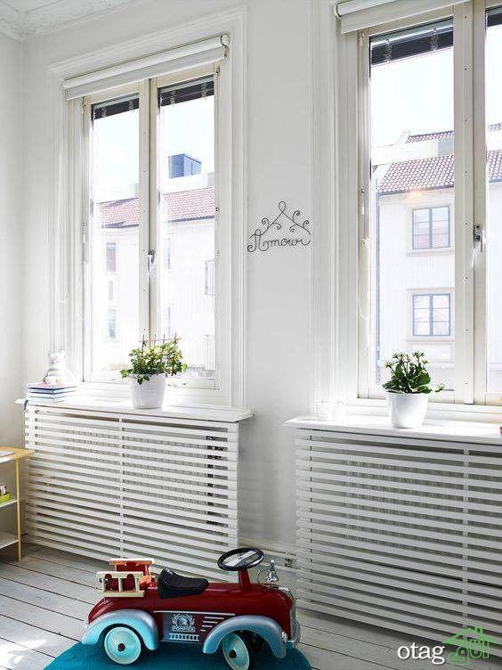 نصب کاور رادیاتور اقدامی شگفت انگیز برای زیباسازی دکوراسیون داخلی