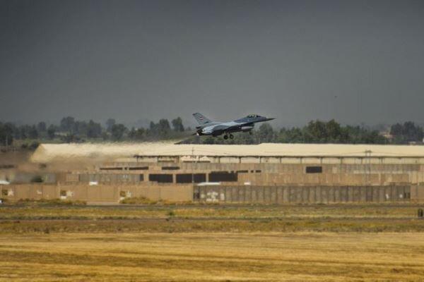 حمله پهپادی به پایگاه تحت اِشغال نظامیان آمریکا در عراق