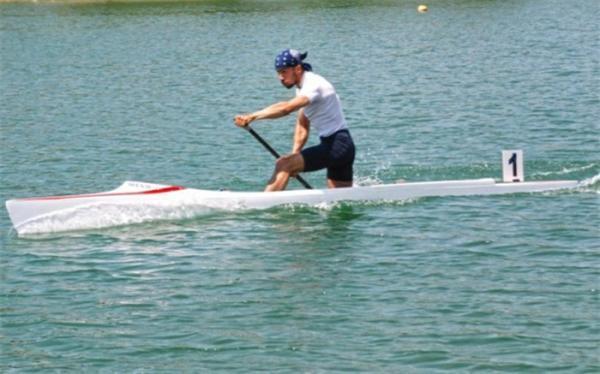 انتخابی قایقرانی المپیک؛ نبی رضایی به نیمه نهایی رسید