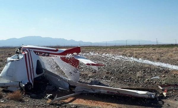 سقوط هواپیمای آموزشی در بجنورد با دو کشته